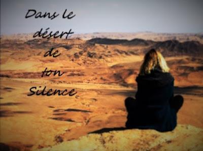 Triste silence dans le désert