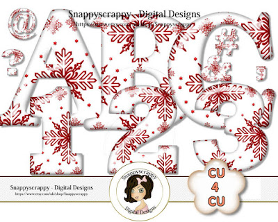 NEW CU4CU CHRISTMAS SCRAP KITS & RESOURCES