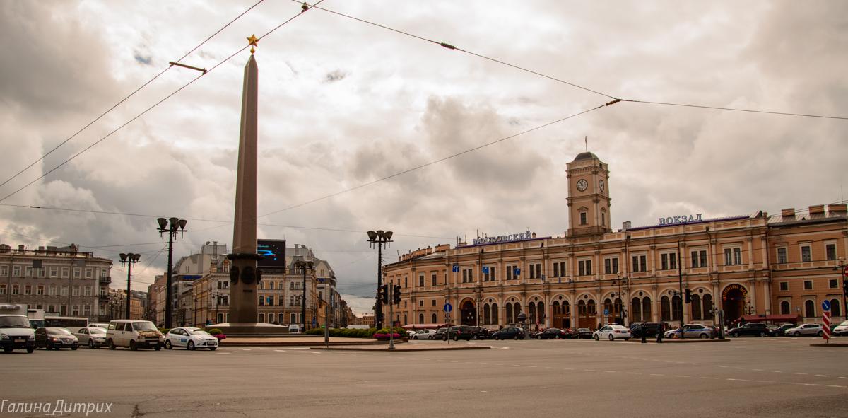 площадь Восстания Санкт-Петербург фото