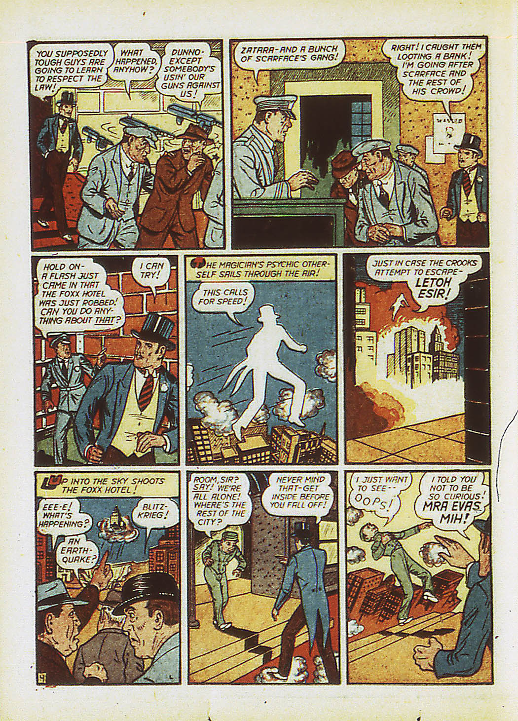 Read online Action Comics (1938) comic -  Issue #34 - 61
