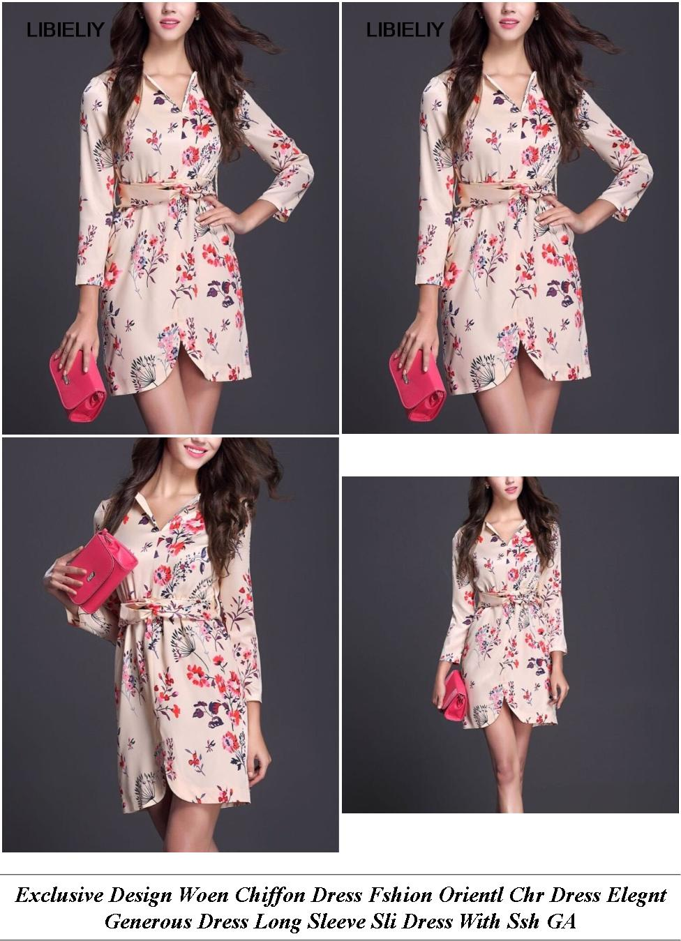 Tea Length Prom Dresses Uk - Stores With The Est Clearance Sales - Lack Long Sleeve Midi Party Dress