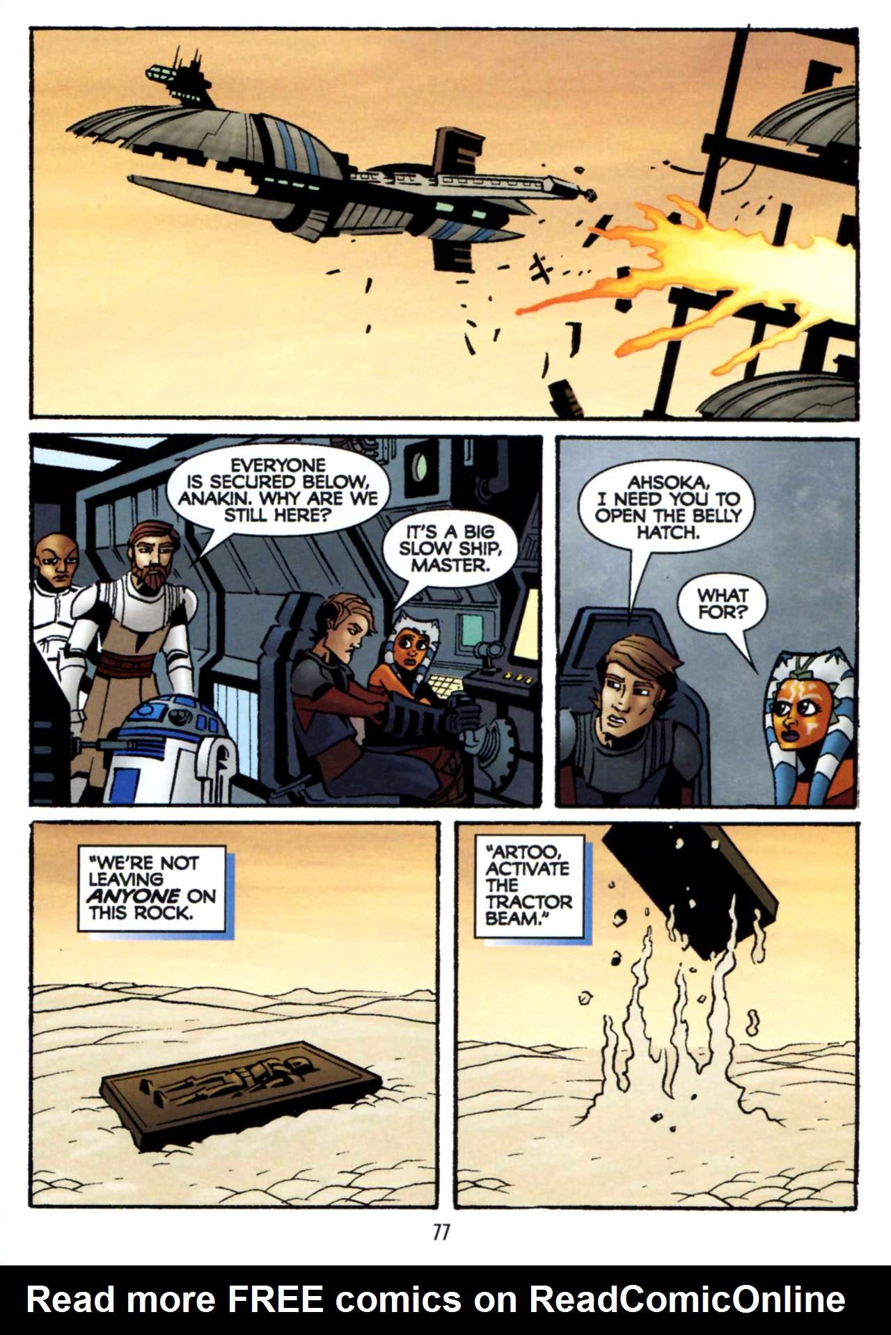 Read online Star Wars: The Clone Wars - Shipyards of Doom comic -  Issue # Full - 75