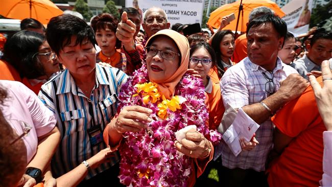 Halimah Yacob named Singapore's first female president without election