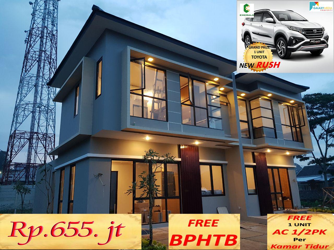 Rumah 2 lantai di Jatiasih