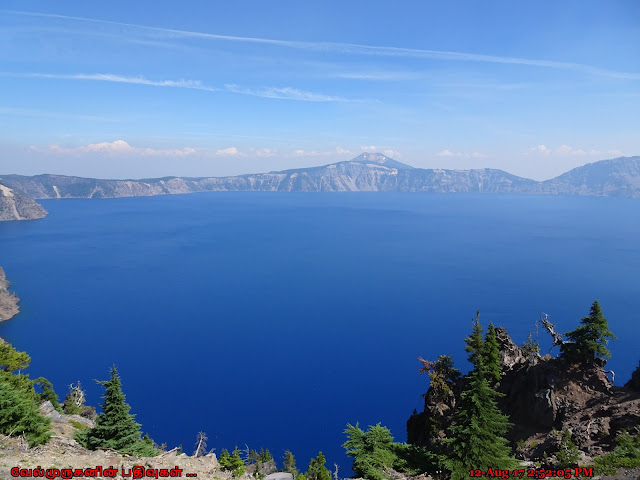 Crater Lake Formation