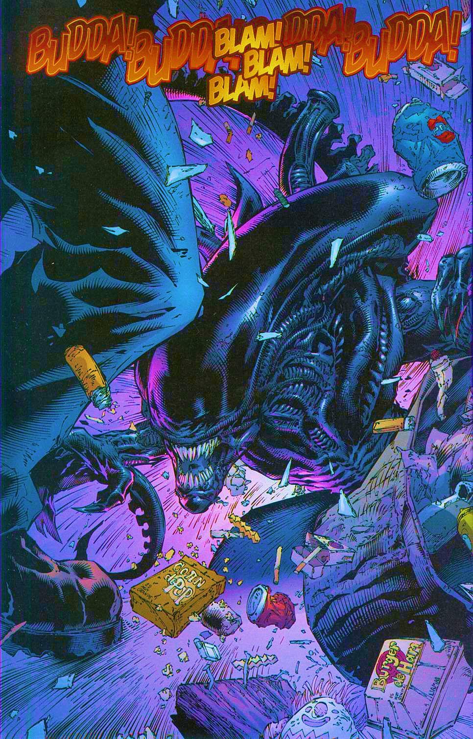 Read online Overkill: Witchblade/Aliens/Darkness/Predator comic -  Issue #1 - 27