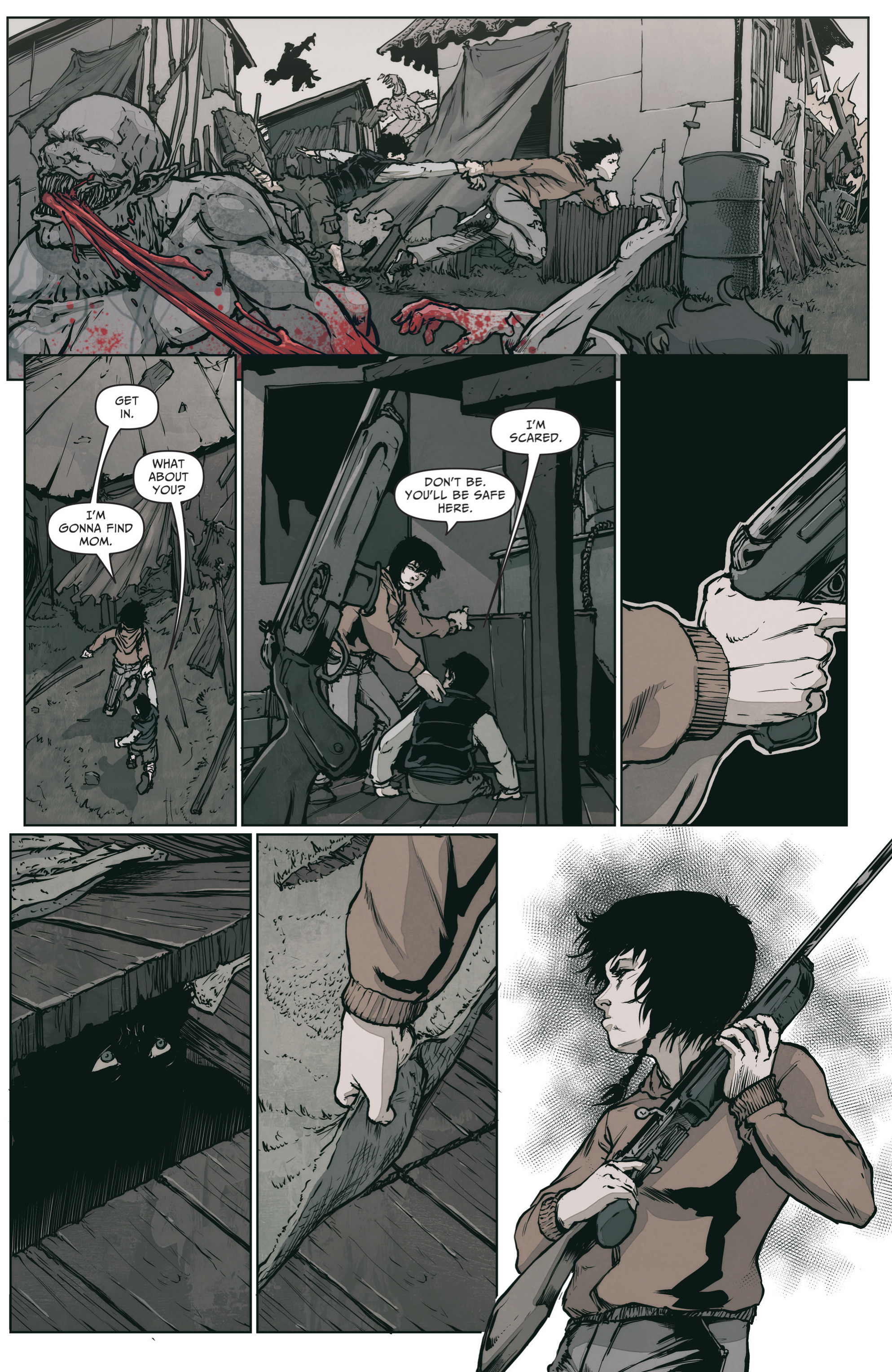 Read online The Courier: From the Ashes comic -  Issue #3 - 4