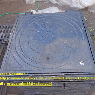 Produksi Main hole Cover Cast Iron