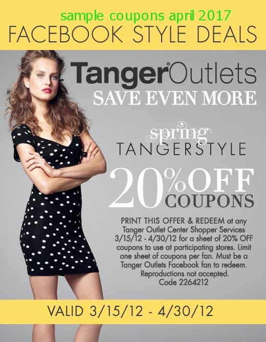 Tanger coupons