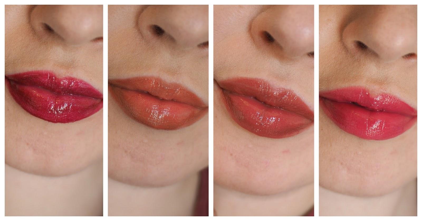M&SBeauty: Autograph Colour Shine Lip Lacquer Lipgloss + Swatches*