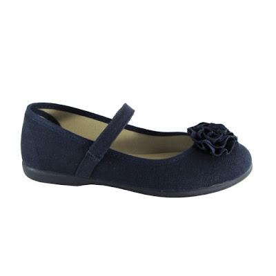 Zapatos niñas merceditas marino