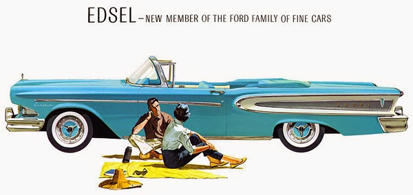 Image result for ford starts selling the edsel
