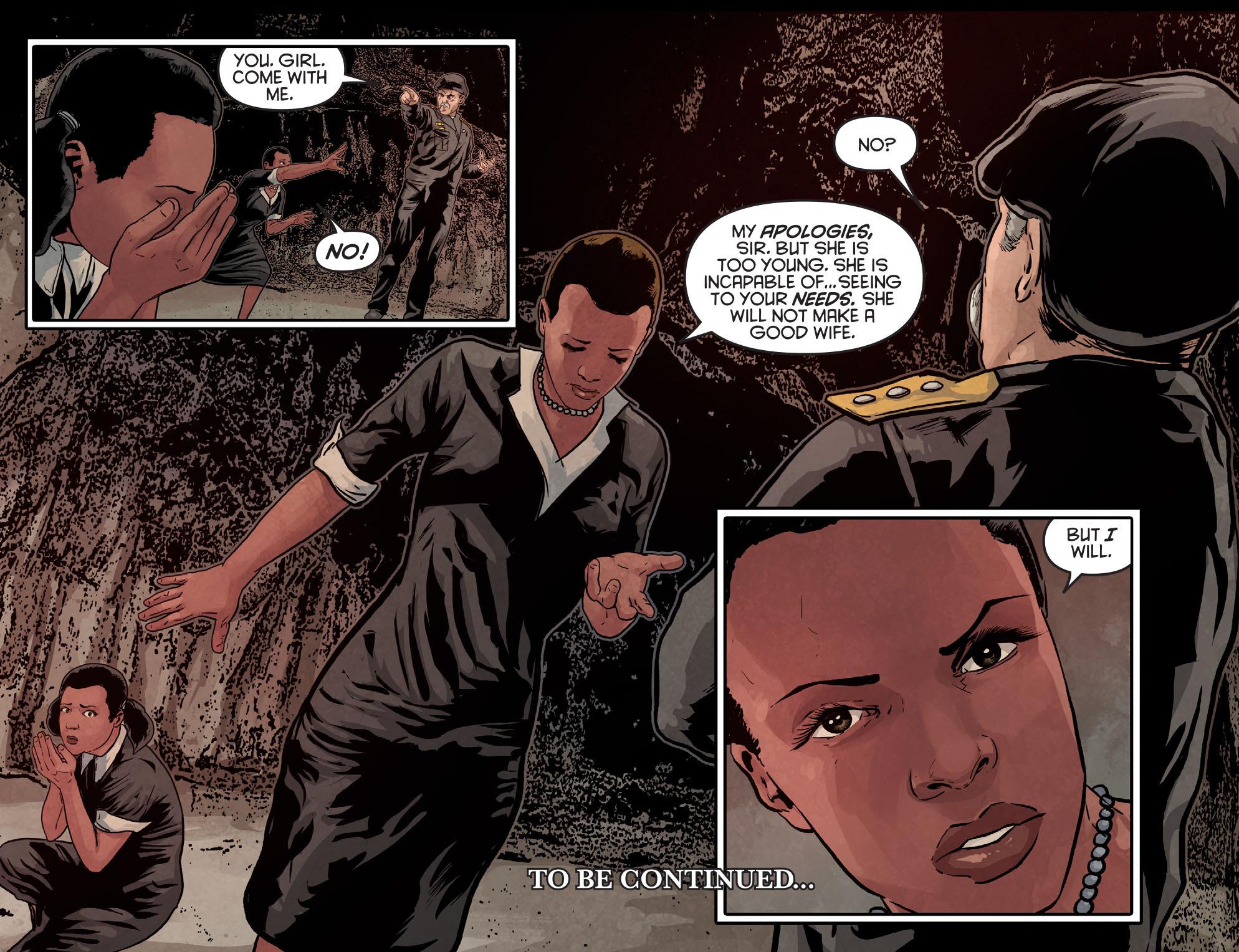 Read online Arrow: Season 2.5 [I] comic -  Issue #9 - 22