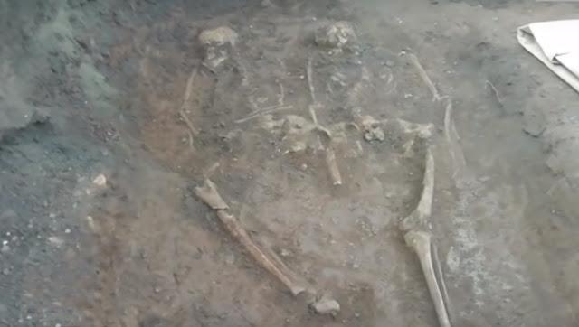 В центре Уфы обнаружено захоронение