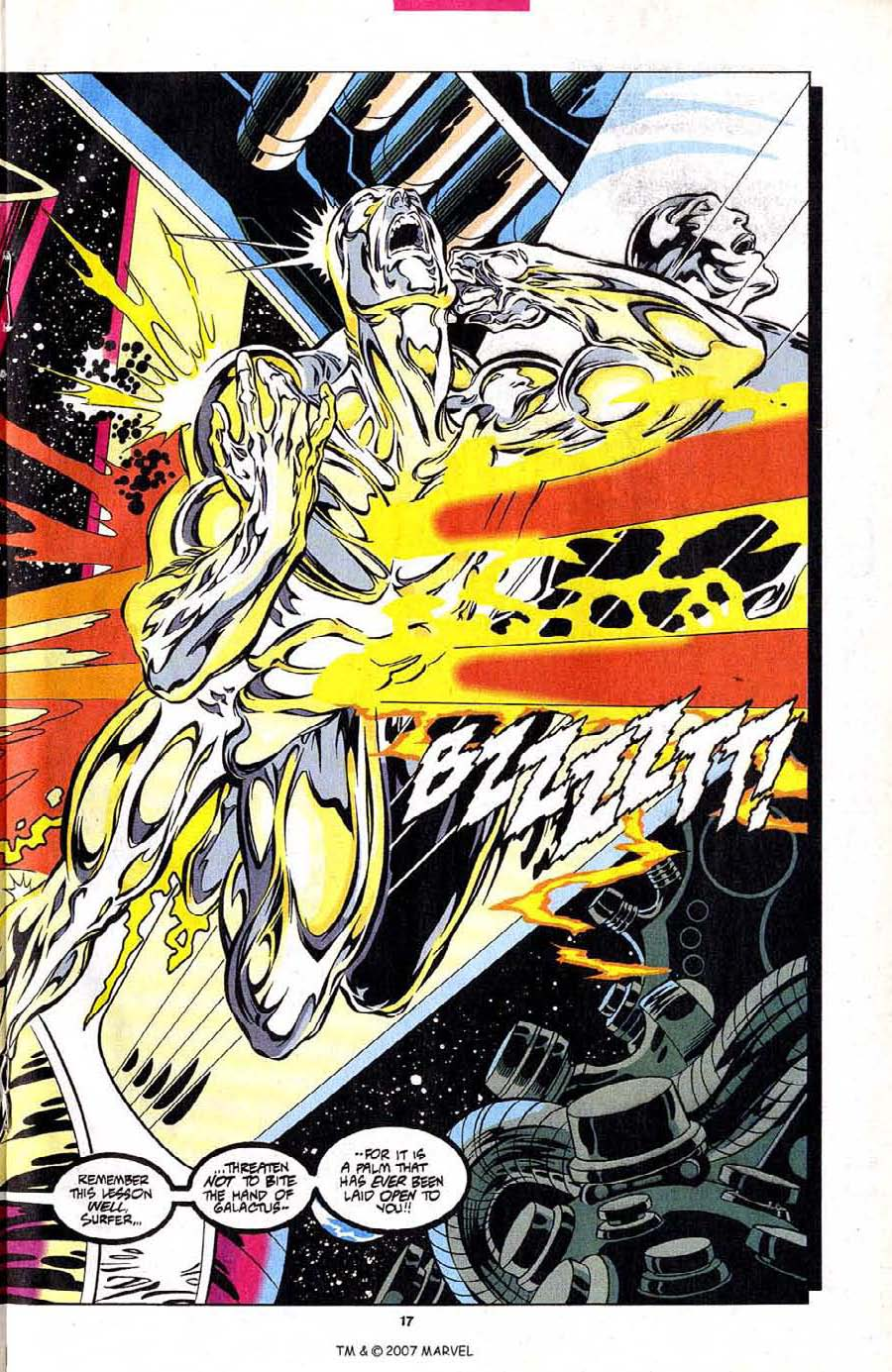 Read online Silver Surfer (1987) comic -  Issue #102 - 19