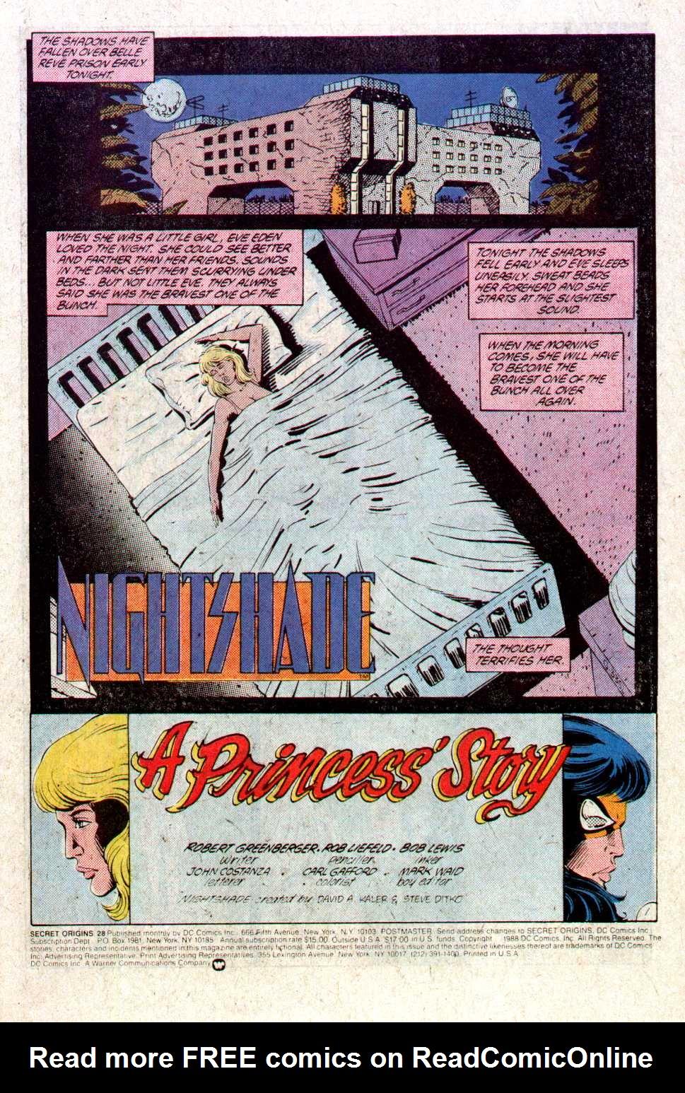Read online Secret Origins (1986) comic -  Issue #28 - 2