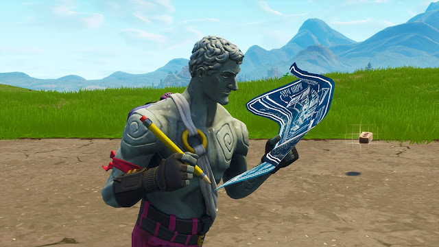 A screenshot of the Love Ranger skin in Fortnite - Battle Royale