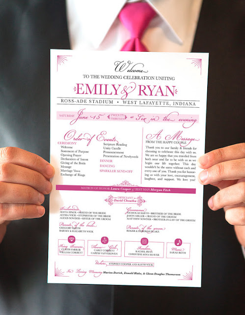 Free Downloadable Wedding Program Template That Can Be Printed free downloadable wedding fan program template that can be printed
