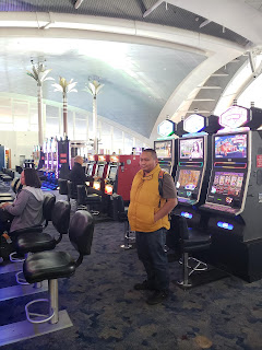 slot machines at Las Vegas airport