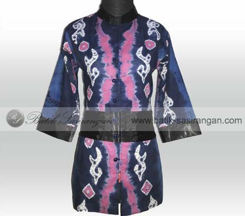 model baju sasirangan kalimantan selatan