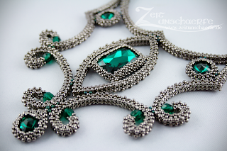 Emerald Ice | Collier in cRAW | www-zeitunschaerfe.de