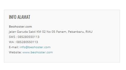 BEOHOSTER.COM Web Hosting dan Domain Murah Berkualitas