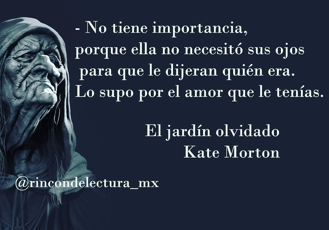 Rincon De Lectura El Jardin Olvidado Kate Morton