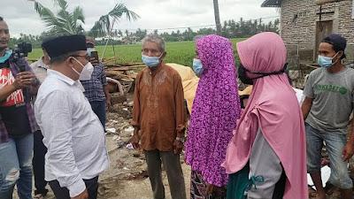 Ketua DPRD Kabupaten Tangerang Bantu Renovasi Rumah Akibat Puting Beliung di Pakuhaji
