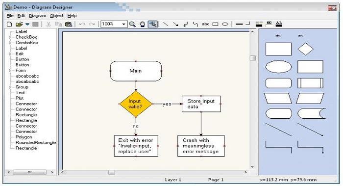 Free Download Diagram Designer 128