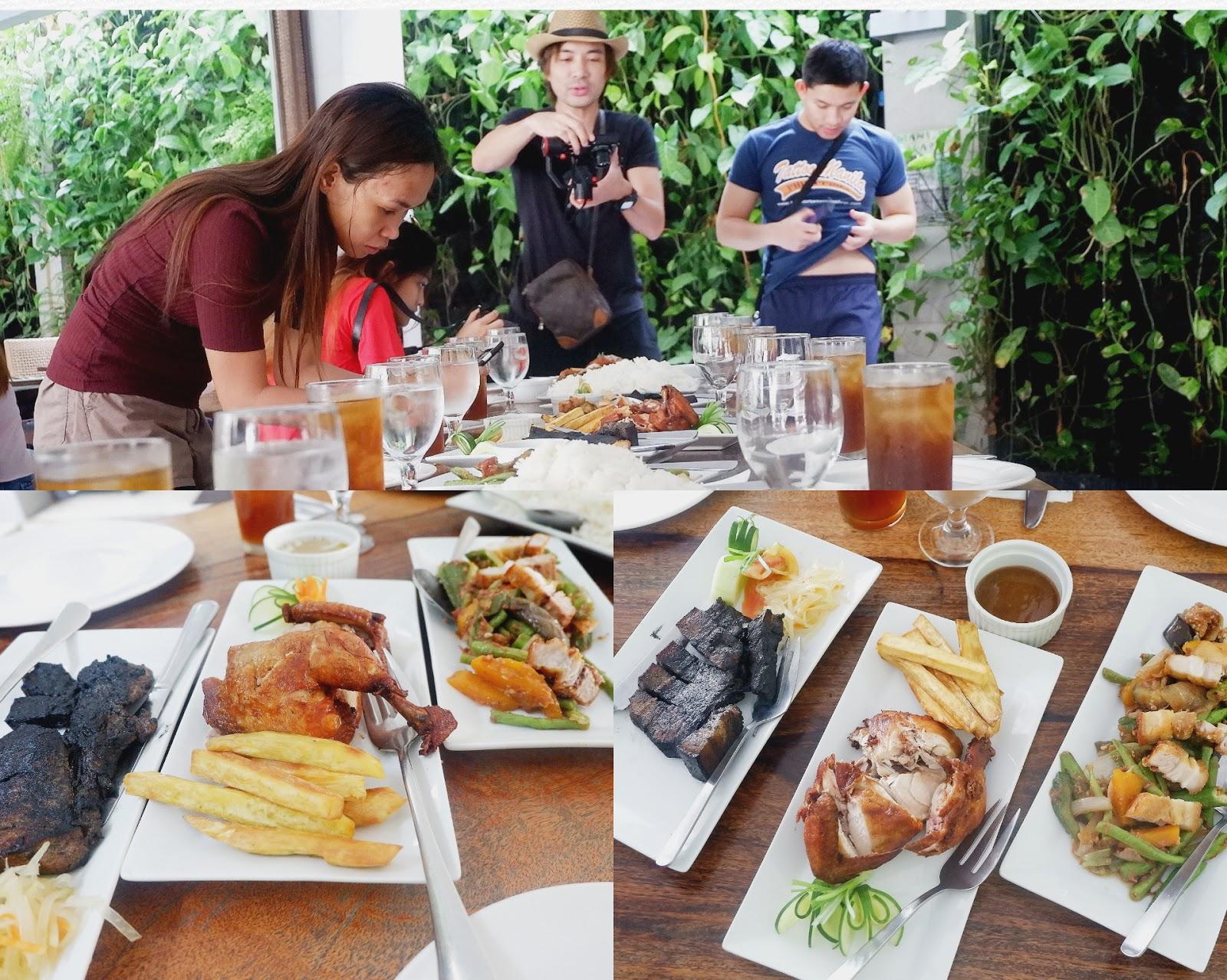 yummy lunch at selah garden hotel