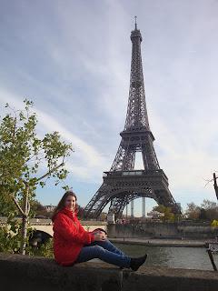 Париж, Эйфелева башня, набережная Сены