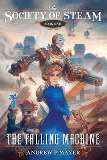 The cover of The Falling Machine by Andrew P Mayer