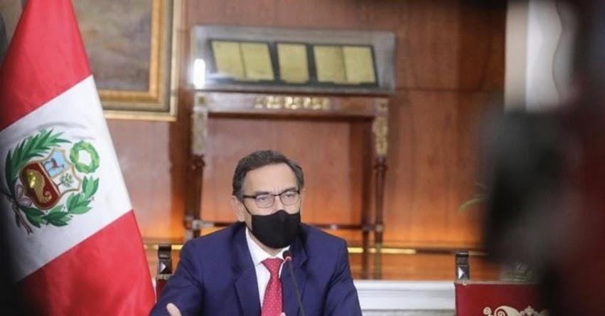 Presidente Vizcarra tomará juramento a nuevo ministro del Interior en Palacio de Gobierno