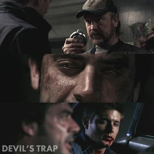 Supernatural 1x22 - Devil's Trap