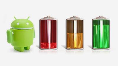 cara agar baterai android awet