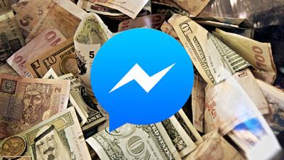 Cómo Transferir dinero a traves Messenger de facebook