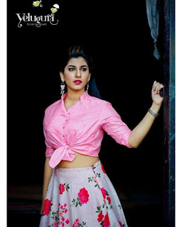 Anchor Vishnu Priya Latest Photo Shoot Stills, Anchor Vishnu Priya Photos