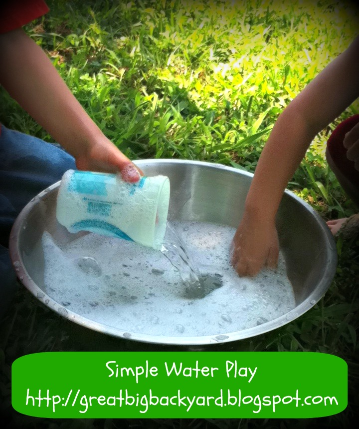 One Great Backyard: Get Outside And Play: Simple Water Play