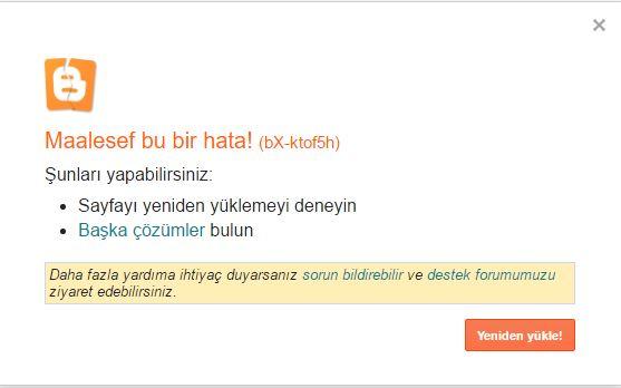 Blogger Sayfa Geçiş Hatası (bX-ktıf5h)