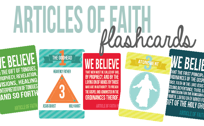 photograph about Articles of Faith Printable known as LDS Printables Information of Religion Flashcards: a Totally free