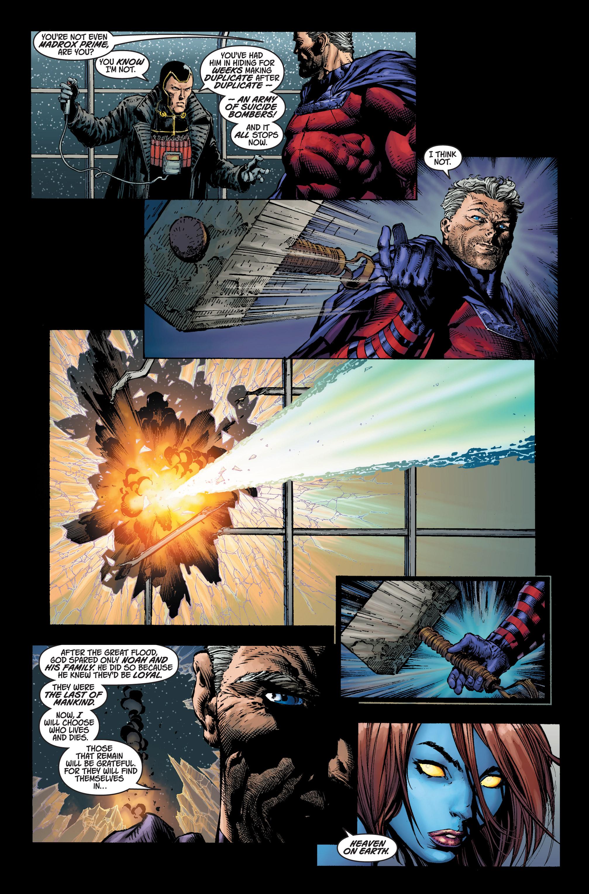 Read online Ultimatum comic -  Issue #3 - 6