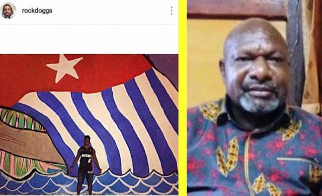 Viral Foto Anaknya Pegang Bendera Papua Merdeka, Begini Kata Bupati Nduga