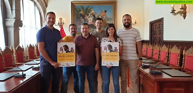 La Asociación Cultural Día del Corsario presenta el programa de este año al Ayuntamiento de Santa Cruz de La Palma