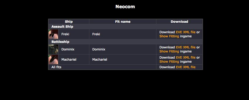 Neocom: 2012
