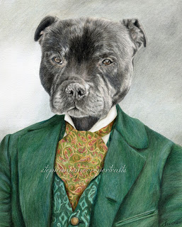 themed portrait animal pet