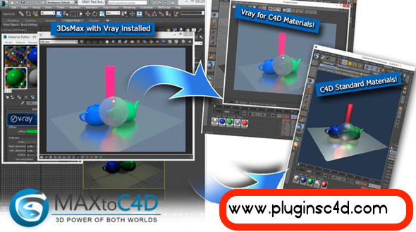 Installing the MAXTOC4D v4 01 Plugin to Import 3D Max Models into