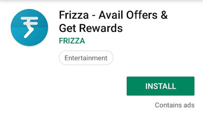 frizza earning app for Android
