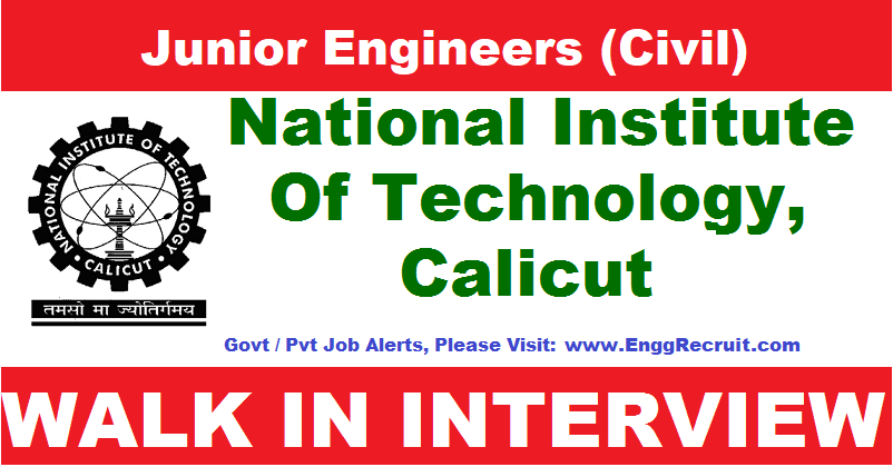 IIT Calicut Recruitment 2018