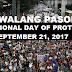 #WalangPasok: Class Suspension on September 21, 2017