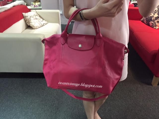 I Want Vintage Vintage Designer Handbags Longchamp Le